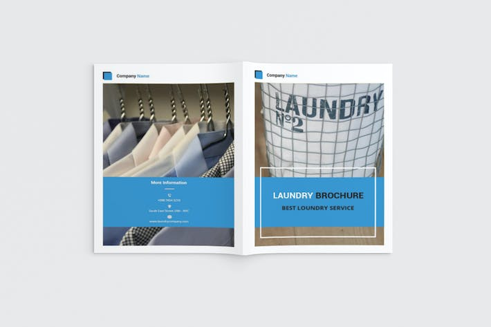 Thumbnail for Cleany - A4 Laundry Brochure Template