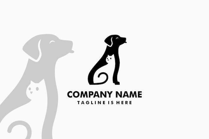 Thumbnail for Dog Cat Pet Logo
