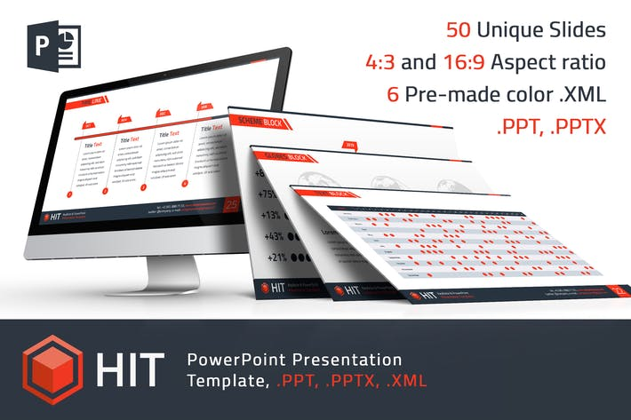 Thumbnail for HIT - Professional PowerPoint Template
