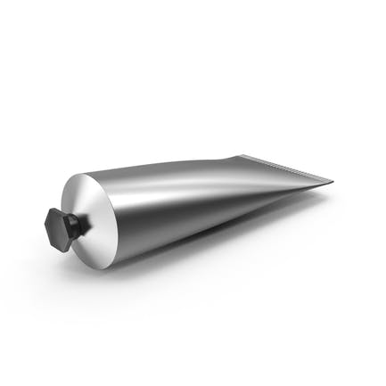Tubo cosmético metálico