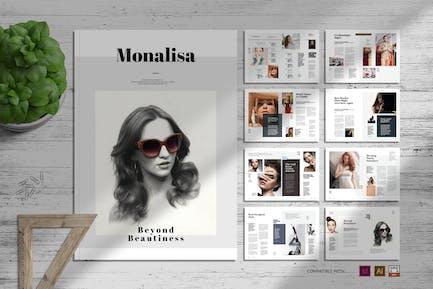 Monalisa   Magazine Template