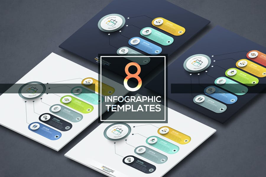 8 Infographic Choice Templates