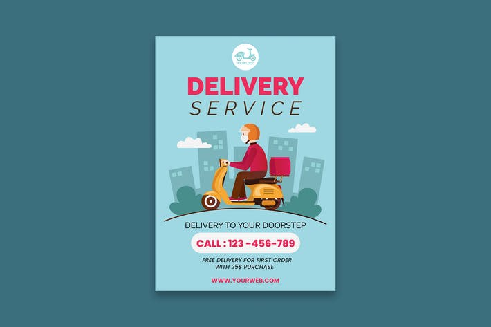Delivery Service Poster