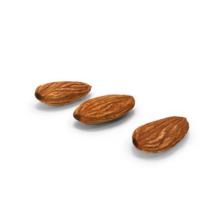 Raw Almonds Set