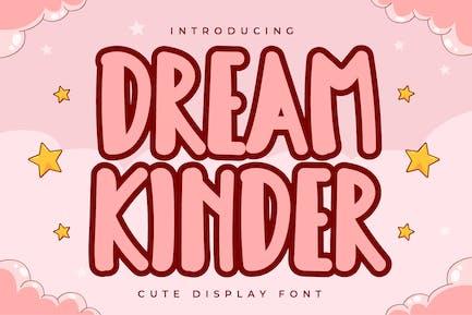 Dream Kinder - Lindo Display