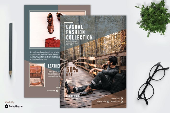 Thumbnail for Casual Fashion - Flyer Template