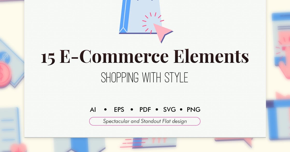 Download 15 E-Commerce elements by Chanut_industries