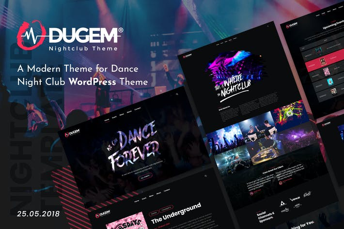 Thumbnail for Dugem | Dance Night Club WordPress Theme