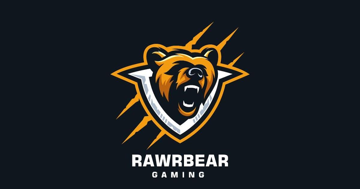 Download Bear Head Mascot Sports and E-sports Style Logo by ivan_artnivora