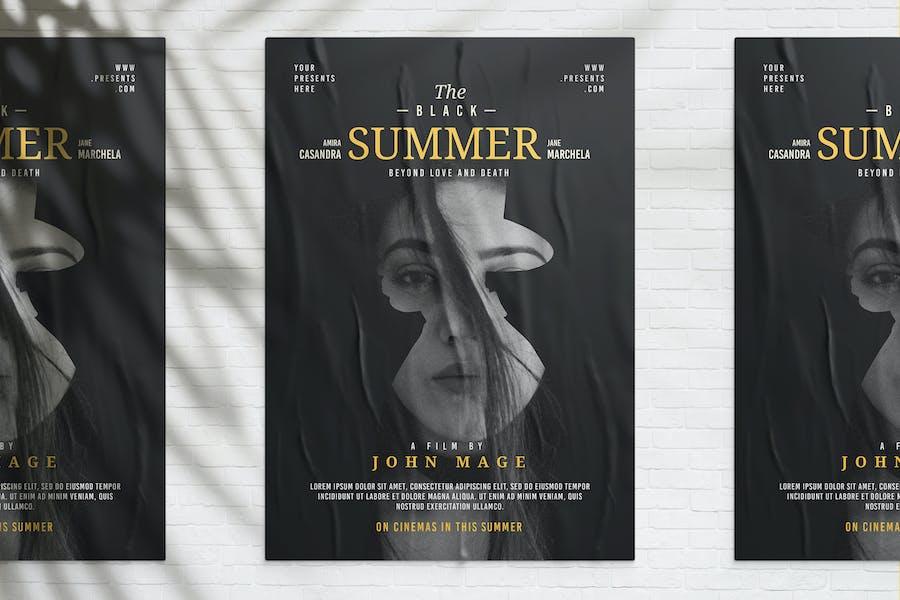 Double Exposure Film Poster