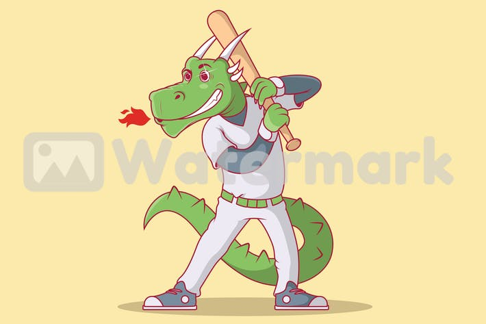 Thumbnail for Baseball-Drache