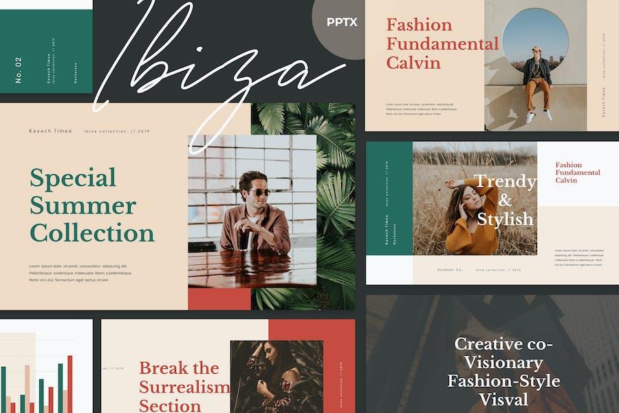 IBIZA - Stylish & Elegant Powerpoint Template
