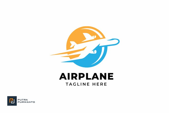 Thumbnail for Airplane - Logo Template