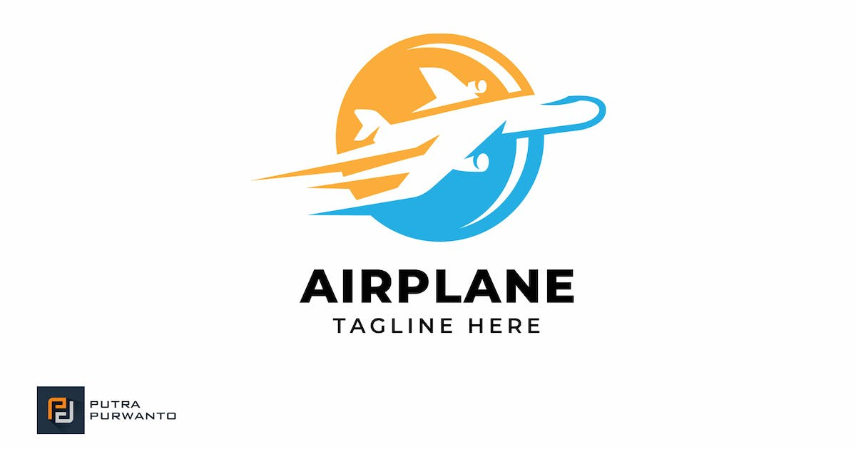 Download Airplane - Logo Template by putra_purwanto