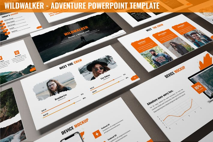 Thumbnail for Wildwalker - Adventure Powerpoint Template