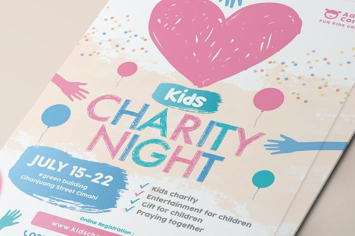 Thumbnail for Kids Charity Flyer