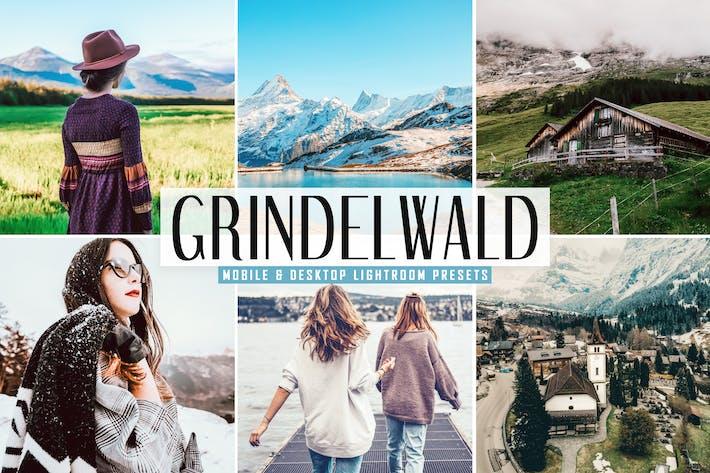Cover Image For Grindelwald Mobile & Desktop Lightroom Presets