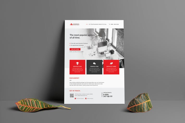 Thumbnail for Business Flyer 041