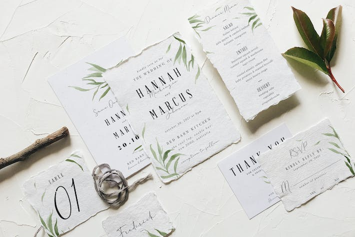 Thumbnail for Dusty Green Foliage Wedding Suite