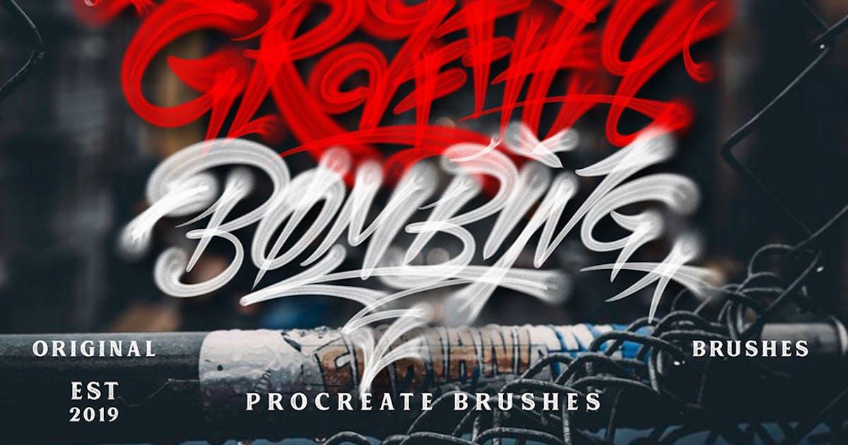 Download GRAFFITI BRUSHES by Sizimon-id