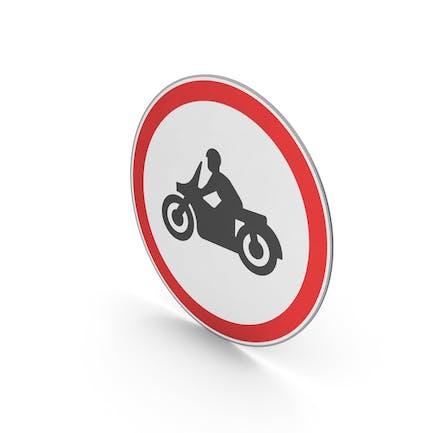 Verkehrsschild Keine Motorräder