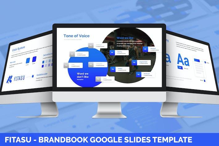 Thumbnail for Fitasu - Brandbook Google Slides Template