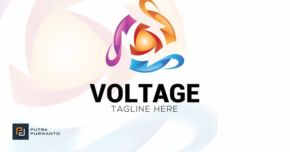 Download Voltage - Logo Template by putra_purwanto