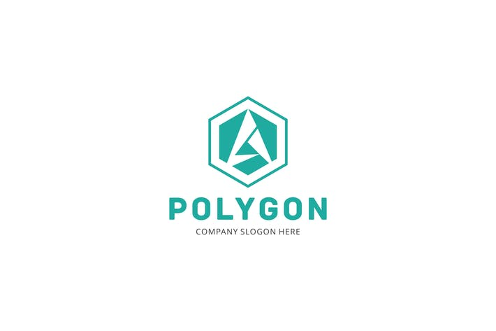 Cover Image For Polygon Letter A Logo
