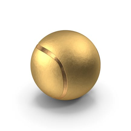 Золотой теннисный мяч