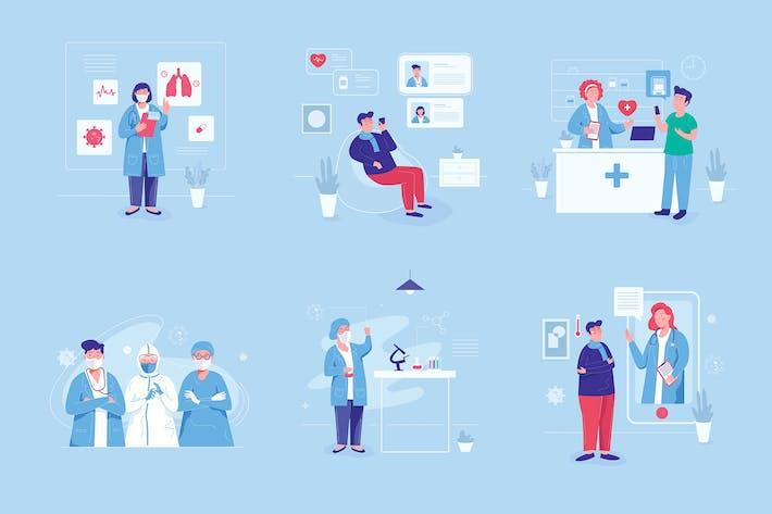 Thumbnail for Medical Graphics Illustration Set