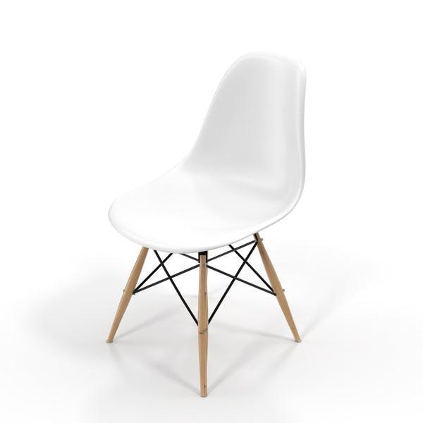 Белый стул
