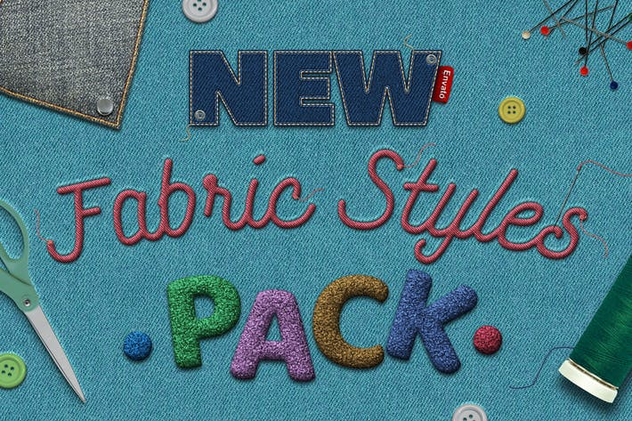 Thumbnail for Fabric Text Effects