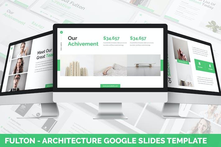 Fulton - Architecture Google Slides Template