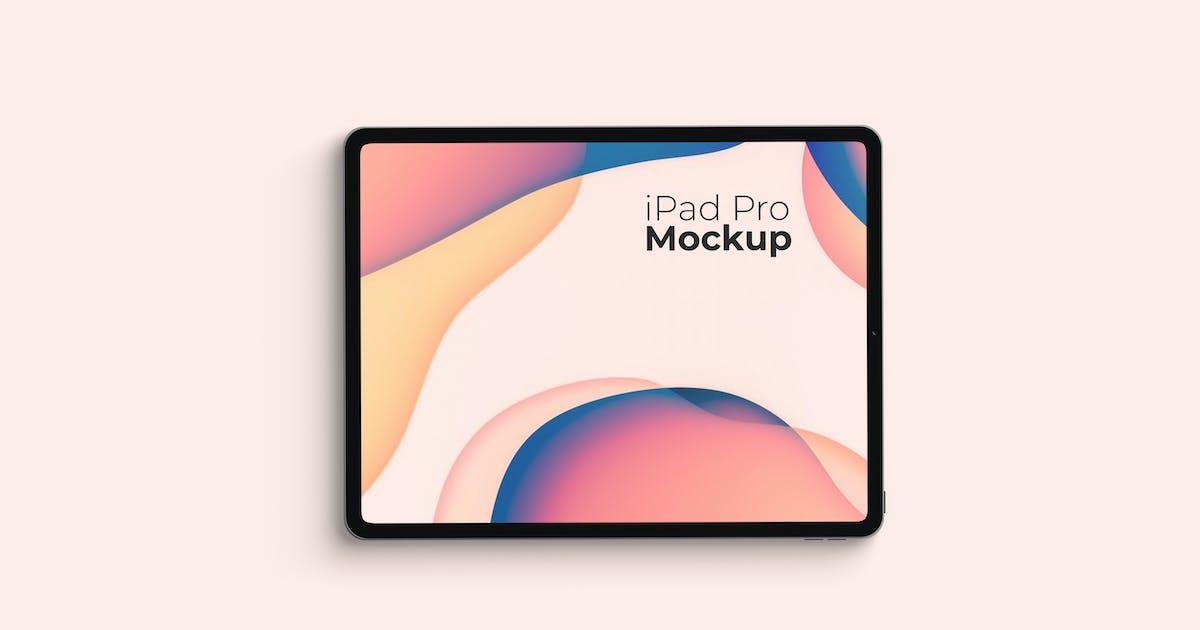 Download iPad Pro Mockup V2 by IanMikraz