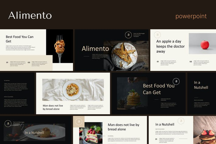 Alimento - Restaurant Business Powerpoint