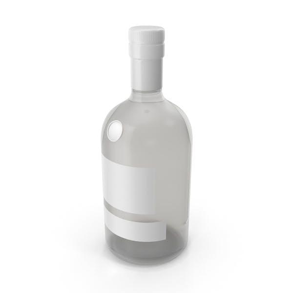 Gin Bottle Mockup