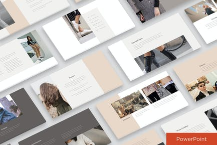 Fashion Clean Powerpoint