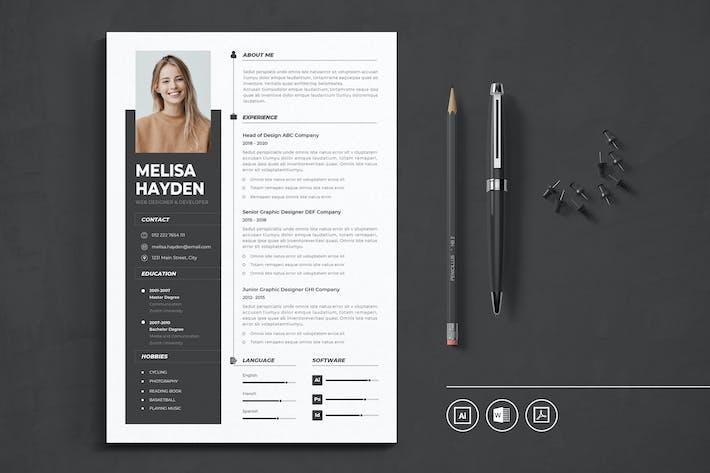 Thumbnail for CV Resume Vol.3