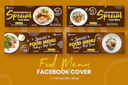 Menu Food Facebook Timeline Covers
