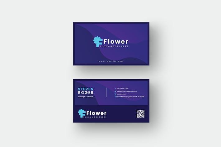 Thumbnail for Blumenkarten-Vorlage