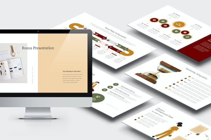 Thumbnail for Rozua: Вектор инфографический бизнес Powerpoint