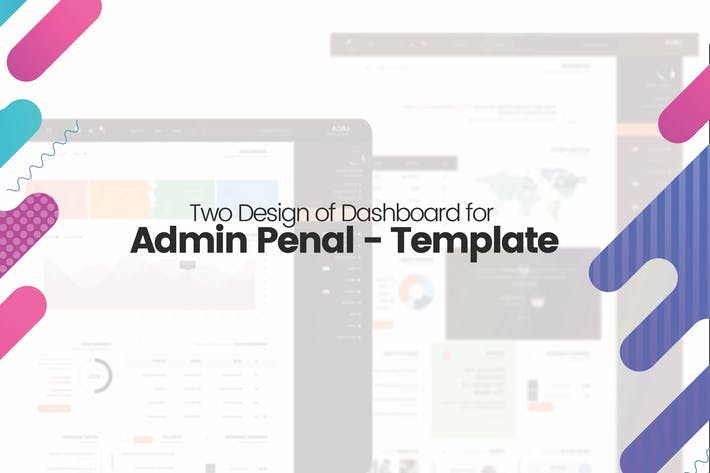 Thumbnail for Two Design of Dashboard for Admin Penal - Template