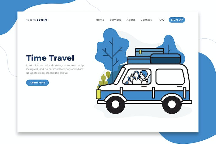 Thumbnail for Time Travel - Landing Page
