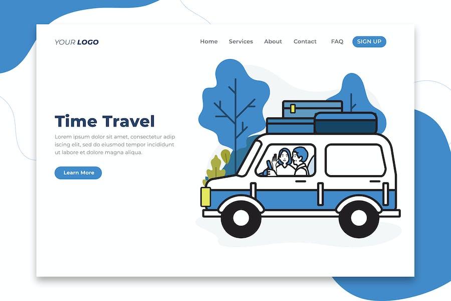 Time Travel - Landing Page