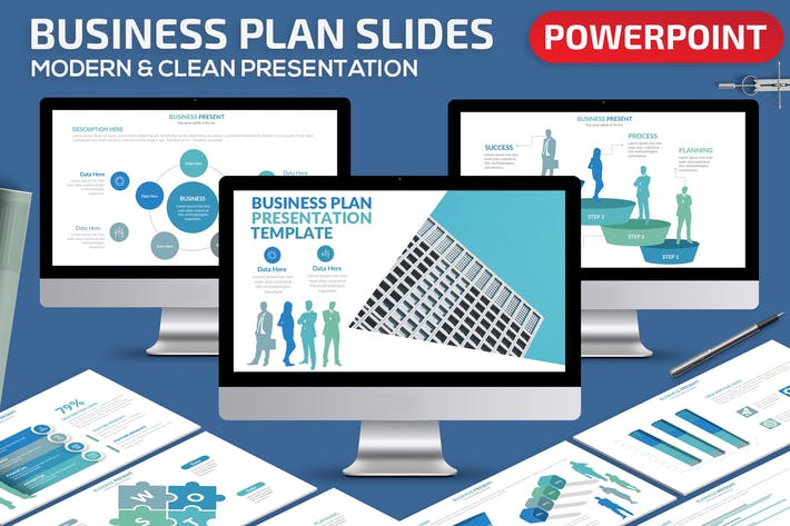 Thumbnail for Business Plan Powerpoint Presentation