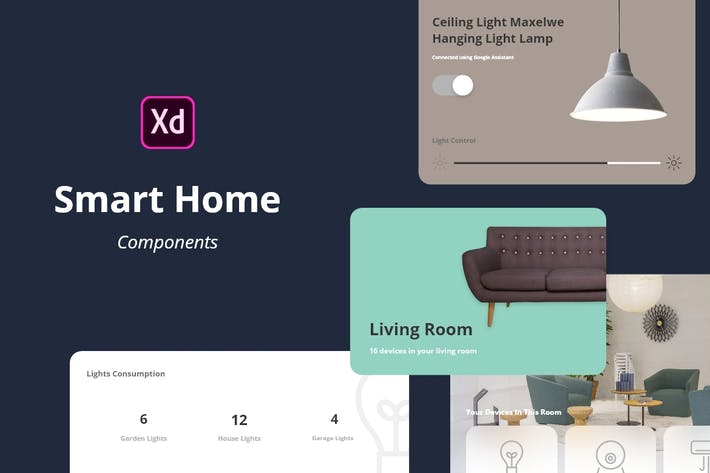 Cover Image For Smart Home Components