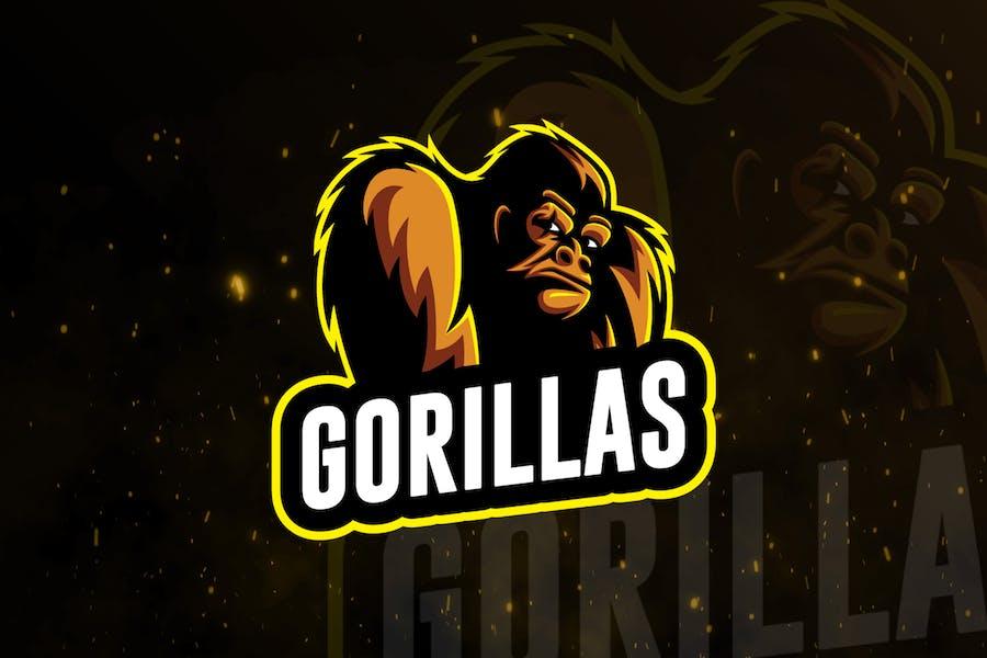 Gorillas Sports Gaming Logo