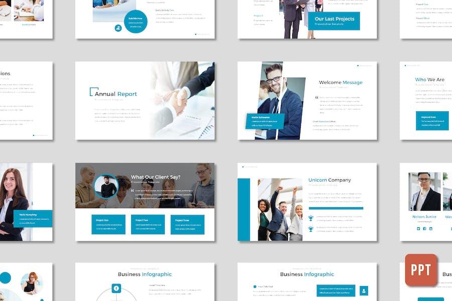 Annual Report Presentation - (PPT)