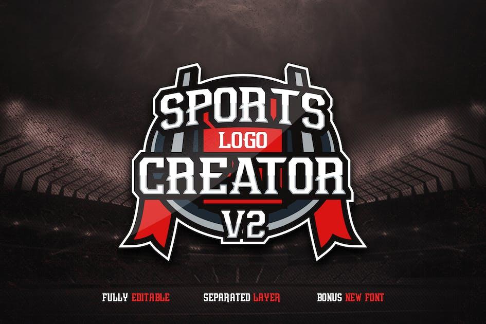 Download Sports Logo Creator V2 by ovozdigital