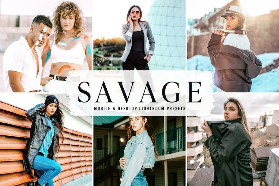 Savage Mobile & Desktop Lightroom Presets